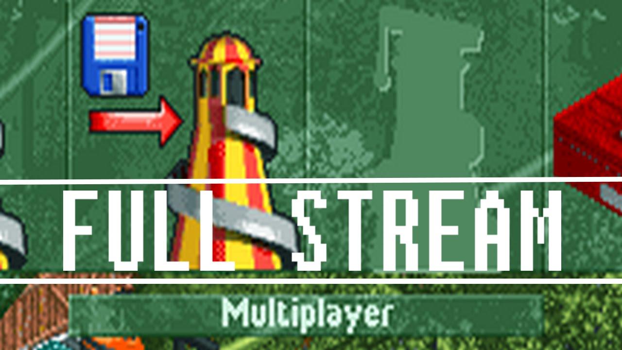 OpenRCT2 Multiplayer - Stream 1