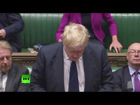 LIVE: Boris Johnson answers Emily Thornberry