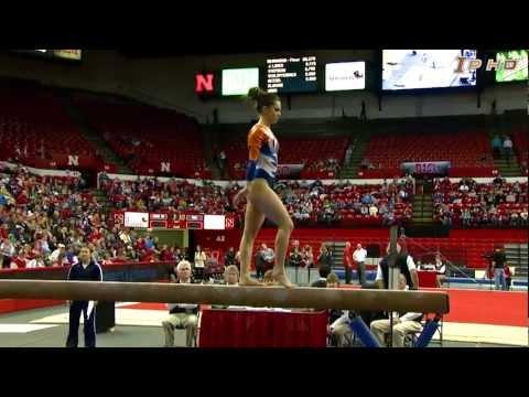 Illinois Women's Gymnastics Highlights vs Nebraska 1/31