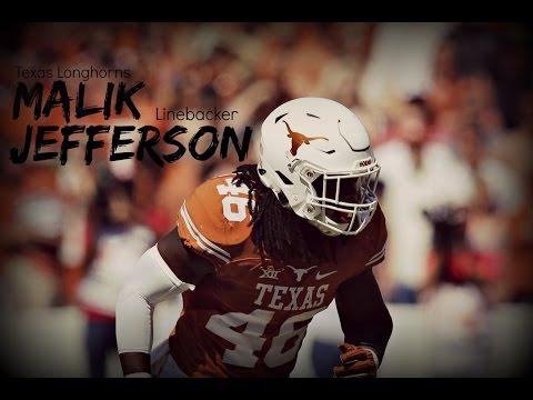 "Malik Jefferson  ""The Predator""  Texas Highlights"