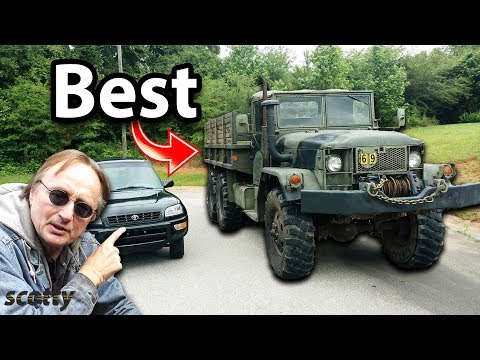 Here's Why this Cheap Military Truck is the Best Vehicle for the Apocalypse | DIY