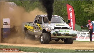 Tractor/Truck Pulls! 2018 Watson Diesel Michigan Nationals! PPL Session 2