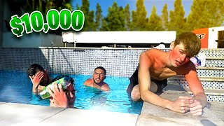 Last To Leave Hot Tub, Wins $10,000 - Challenge