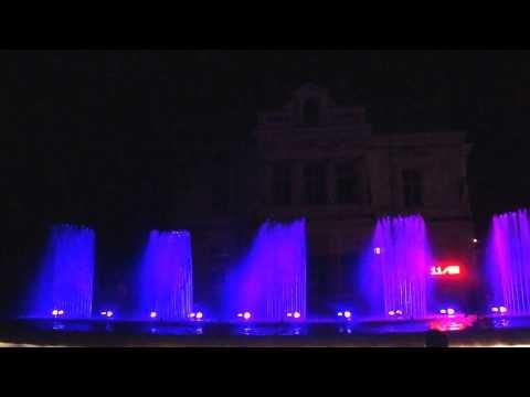 A reason of joy: Musical Fountain from Pitesti, Romania