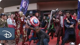 opening night fan event avengers endgame at an amc - 320×180
