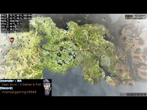 How To Fix World Map Lag In Black Desert Online BDO 1080p 60fps