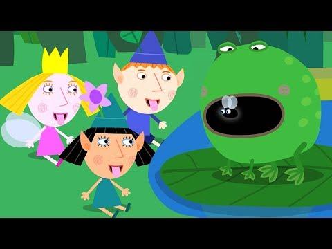 Ben y Holly en Español 🐸La clase sobre la naturaleza | HD | Dibujos Animados