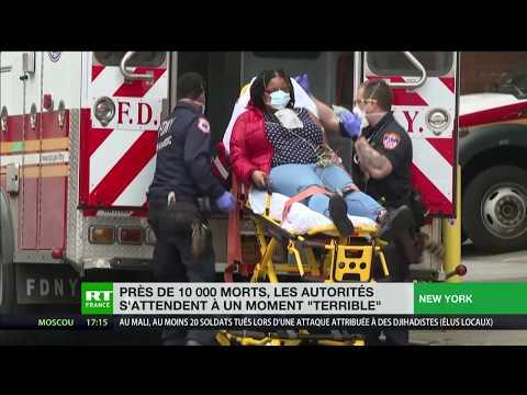 Covid-19: les Etats-Unis s'attendent à une «tragédie»