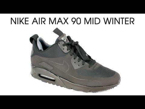 Обзор кроссовок Nike Air Max 90 Mid Winter от Trendsport.ru