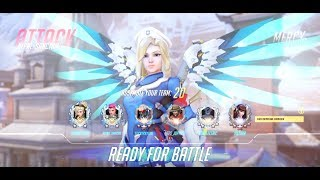 Five Man on Nepal - Master Mercy Competitive Overwatch