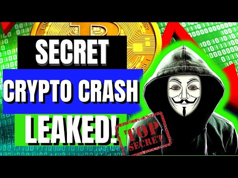 LEAKED! TOP SECRET ANNOUNCEMENT About CRYPTO CRASH | Bitcoin Cardano XRP Ethereum MANIPULATION
