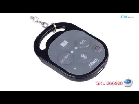 DX: Ipega PG-9019 Bluetooth Remote Control Self Timer Camera Shutter For IOS / Android Phone