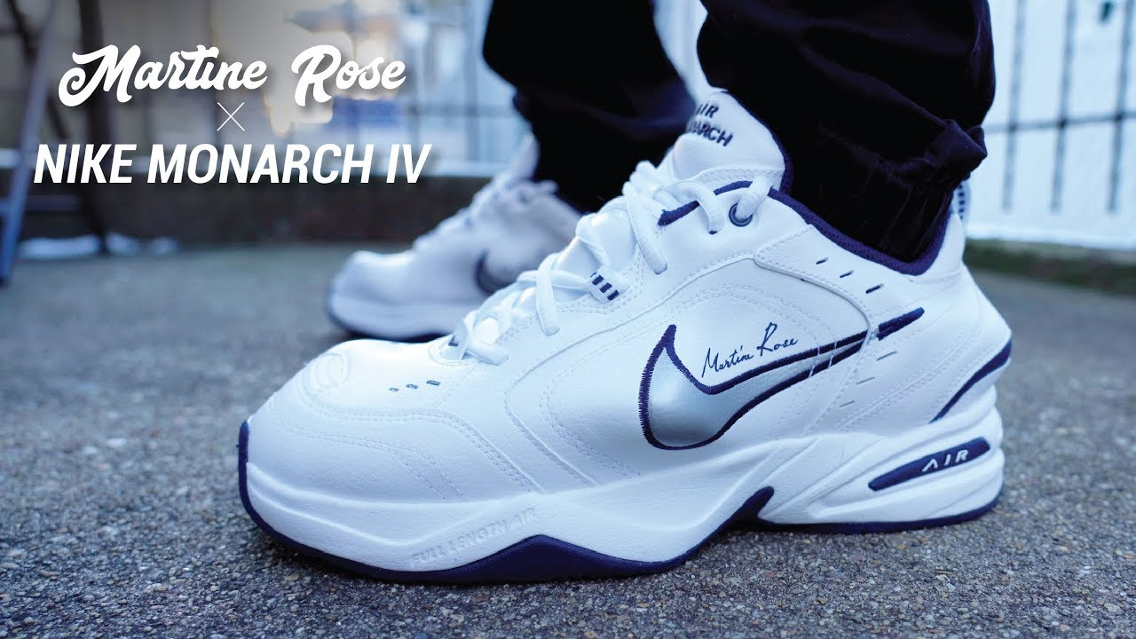 2731b64fc193 Martine Rose Nike Air Monarch Review   On Feet - YouTube