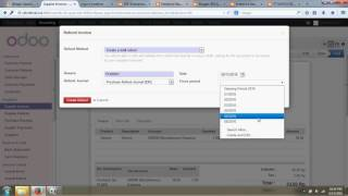 SUPPLIER INVOICES & SUPPLIER REFUNDS ODOO