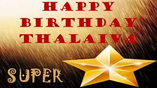superstar rajinikanth birthday special fanmade promo