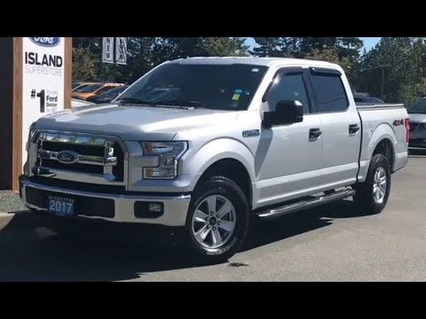 2017 Ford F-150 XLT 300A 5.0L Supercrew W/ Backup Camera Review| island Ford