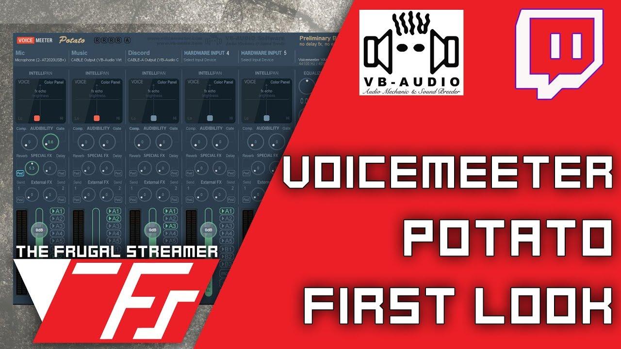 The New Replacement for Voicemeeter Banana: Meet Potato