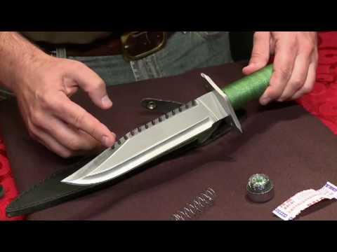 Swords Swords - Rambo First Blood Survival Knife Replica