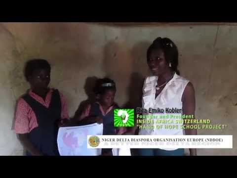 """Education support for """"Inside Africa Switzerland School Project"""", Nigeria"""