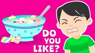 Do You Like Song for Kids | Do You Like Marshmallows? Song for Children Learn Food Names