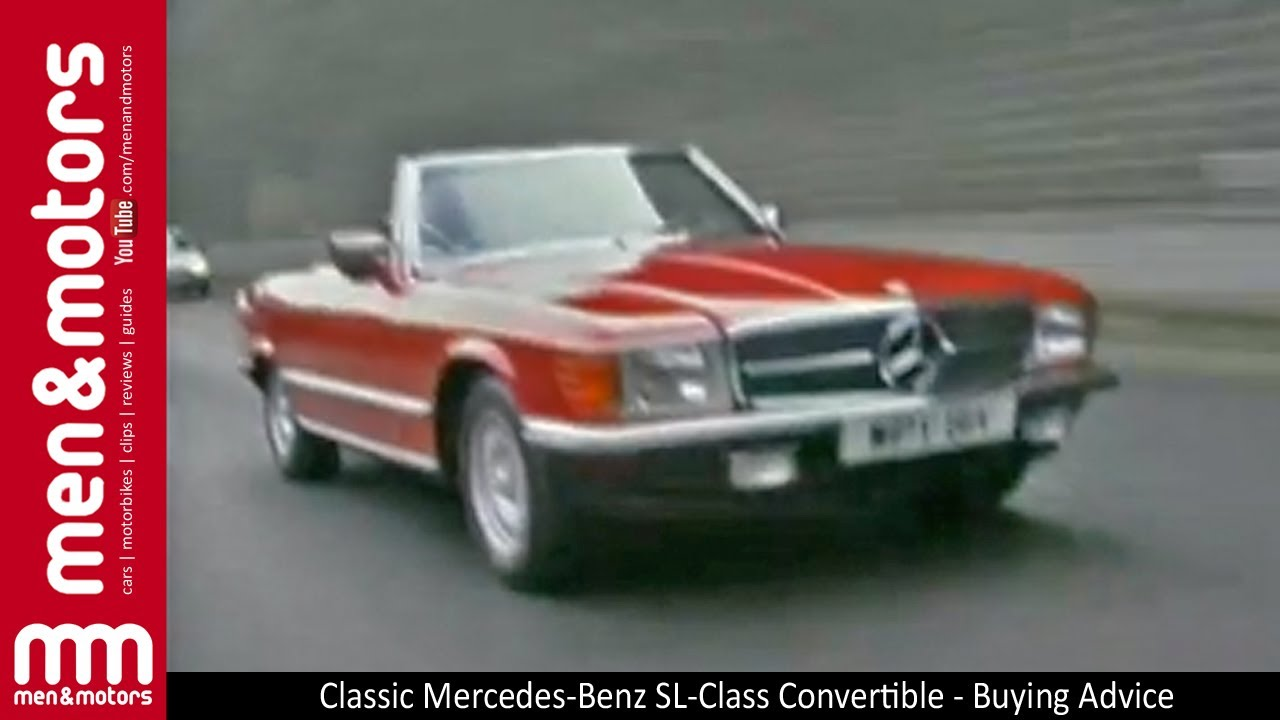 Classic mercedes benz sl class convertible buying advice for Buy old mercedes benz