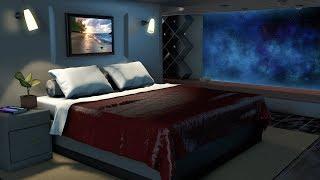 Spaceship Bedroom White Noise | Sleep, Study, Focus | 10 Hours Space Sound
