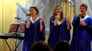 Песня молодежки на Рождество 2015
