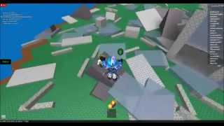 Lets Play: ROBLOX! - FLOOD AND METEOR SHOWER?!? (1)