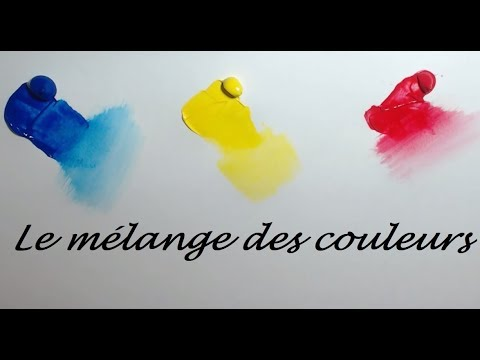 tutoriel peinture d butants le m lange des couleurs acryliques youtube. Black Bedroom Furniture Sets. Home Design Ideas