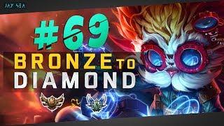 The Most Oppressive Laner In League | Heimerdinger Top | Depths of Bronze to Diamond Episode #69