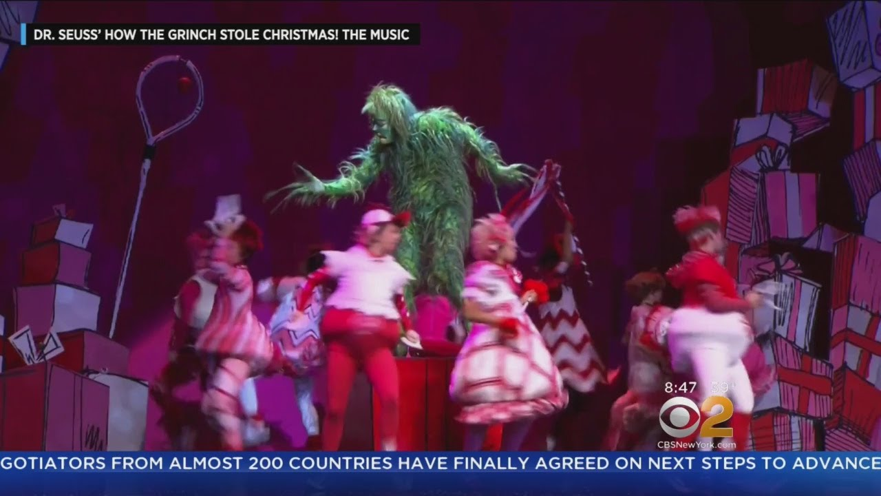 How The Grinch Stole Christmas Returns To MSG - CBS New York