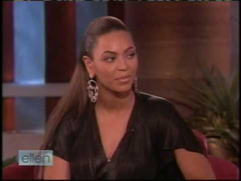Beyonce on Ellen (Part 2)