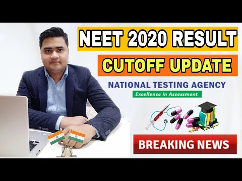 NEET 2020 Results Update : Cutoff Marks From NTA And Details Discussion : MISSIONMBBS : 9732122744