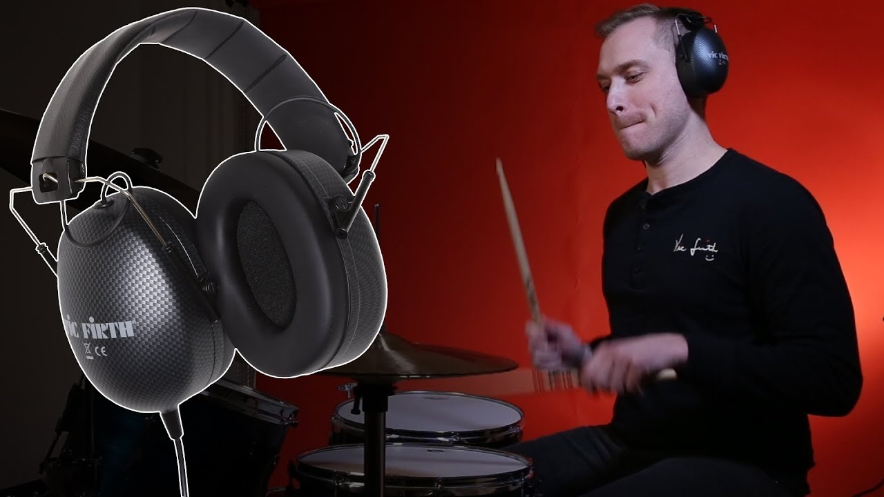 ed0fbf6aded Vic Firth Headphones SIH2 Stereo Isolation | Ear Protection and Ear Plugs |  Accessories | Steve Weiss Music