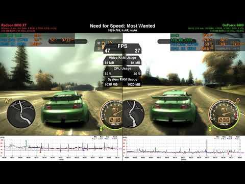 Radeon 9800 XT Vs GeForce 6600 - GPU Duel (ep. 7)