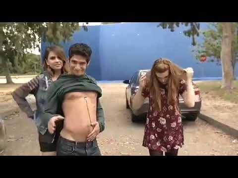 Волчонок . Смешные моменты со съемок 6 сезона (Teen Wolf-Funny Moments)