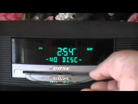 bose wave radio cd awrcc1 youtube. Black Bedroom Furniture Sets. Home Design Ideas