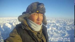 Ловим ряпушку день 1 'Поиски клёвого места' Якутия Yakutia