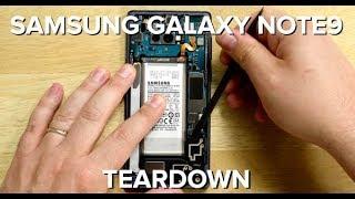 The Samsung Galaxy Note9 Teardown