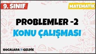 Problemler 2, 9. Sınıf Matematik