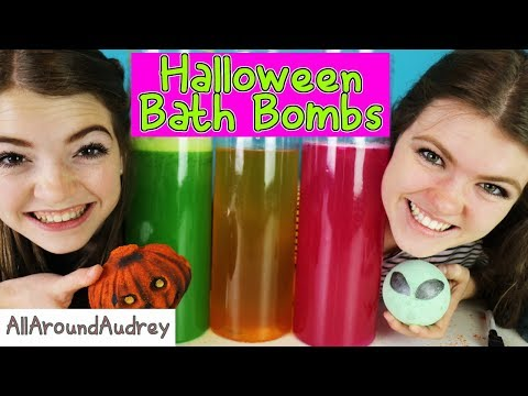 Thumbnail: Halloween BATH BOMB Challenge GONE WRONG!! A Big SPOOPY MESS! /AllAroundAudrey