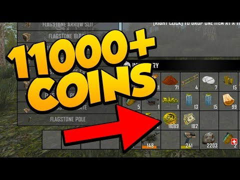 11000+ COIN TREASURE! - 7 Days to Die Alpha 16 Multiplayer Gameplay #16