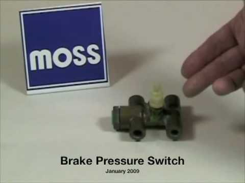 Brake Pressure Switch - YouTube