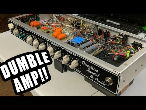 Building A Dumble Overdrive Special 102 Style Guitar Amp From Start to Finish