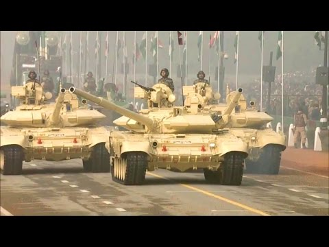 India Republic Day Parade 2016 - Full Army Military Assets Segment [720p]