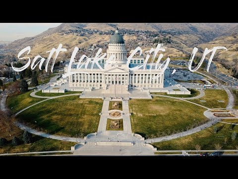 Salt Lake City, Utah [4K]