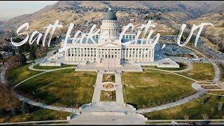 Salt Lake City, Utah [4K]
