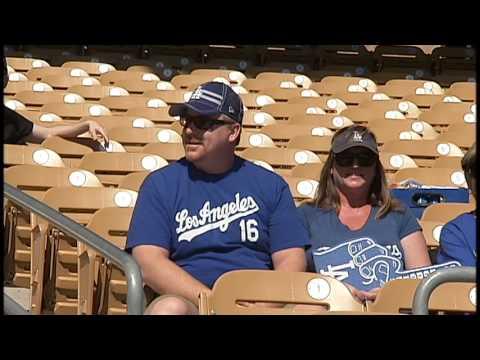 Camelback Ranch Glendale opening day Dodger  fans'