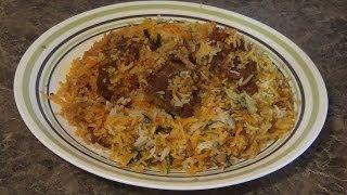 Mutton Biryani - Gosht Biryani - Hyderabadi Mutton Biryani - Baby Goat Biryani