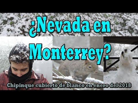 Primera HELADA del 2018 en Monterrey l NEVANDO en Chipinque l Fascinantes paisajes